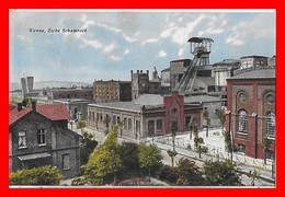 CPA HERNE (Allemagne)  WANNE.  Zeche Schamrock, Cité Minière De La Rhur...K473 - Herne