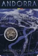 Andorra - 2 Euro Commemorativo 2019 In Confezione Originale - Coppa Del Mondo Di Sci - Andorra