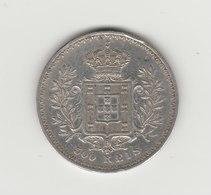 500 REIS 1899 CHARLES 1ER ARGENT - Portugal