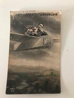 Carte Postale Ancienne (1912) Un Baiser D'AUVELAIS - Sambreville