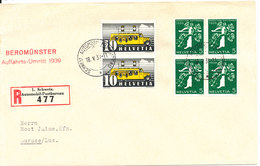 Switzerland Registered Cover Schweiz Automobil Postbureau 18-5-1939 (Beromunster Auffahrts Umritt 1939) - Suisse