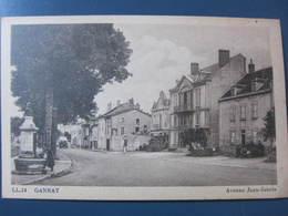 Carte Postale Gannat Avenue Jean Jaurès - France