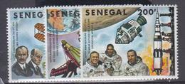 Sénégal    1978     N °  500 / 502       COTE     4 € 75        ( E 2 ) - Senegal (1960-...)