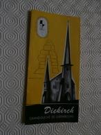 Ancien Dépliant Sur La Ville De Diekirch (Luxembourg) - Folletos Turísticos