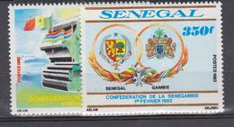 Sénégal    1982     N °  573 / 574       COTE     5 € 75        ( E 8 ) - Senegal (1960-...)