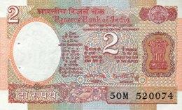 India 2 Rupees, P-79f (1976) - UNC - Letter A - Indien
