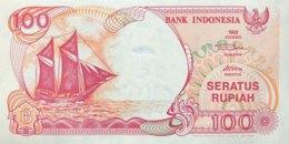 Indonesia 100 Rupiah, P-127h (1992/2000) - UNC - Indonesien