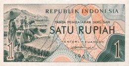 Indonesia 1 Rupiah, P-78 (1961) - UNC - Indonesien