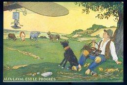 Cpa Publicité Alfa Laval Est Le Progrès -- Avion     DEC19-30 - Publicité