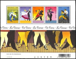 NB - [154703]TB//**/Mnh-Belgique 2006 - BL136, Rock, Valse, Tango, Cha-cha, Samba, Le Bloc, Danse, SNC - Dance