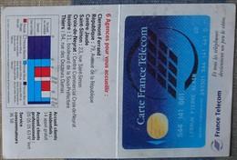 Petit Calendrier Poche 1995 France Telecom Carte  Clermont Ferrand Issoire Thiers - Calendars