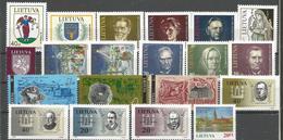 LT 1993 LOT OF Litauen - Lithuania, MNH - Lituanie