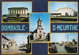 DOMBASLE SUR MEURTHE - MEURTHE & MOSELLE - (54) - CPSM MULTIVUES. - Autres Communes