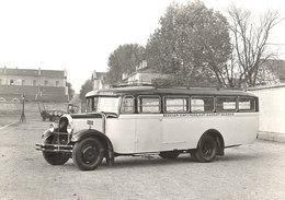 Autobus LUC COURT MC4 Atlantic (Constructeur Lyonnais) 1934  -  15x10cms PHOTO - Buses & Coaches