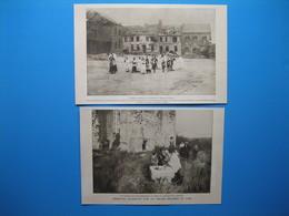 (1919) Cérémonies Religieuses Dans Les Régions Dévastées Du Nord : Baptême à CURLU Et Communion à BRAY-SUR-SOMME - Unclassified