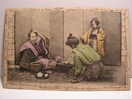 CPA SCENES DE VIE EN CHINE ET AU JAPON JOUEURS D ECHECS JAPONAIS 687 - Altri