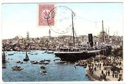 TURQUIE - CONSTANTINOPLE - ISTANBUL - Quai De Galata Et Vue De Stamboul - Ed. Rochat, Constantinople, N° 47 - Turchia
