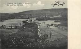SYRIE ENTREE DE DJISSIR EL CHOGOUR LE PONT SUR L'ORONTE - Siria