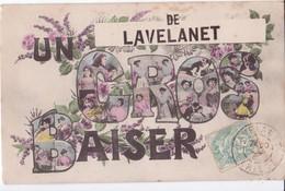 09 LAVELANET ARIEGE UN GROS BAISER EN BON ETAT - Lavelanet