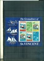 S.VINCENT TOURISME LES GRENADINES 1 BF NEUF A PARTIR DE 2,50 EUROS - St.Vincent (...-1979)