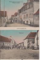 67 - STOTZHEIM - 2 VUES - RESTAURANT ZUR KRONE - E. SPITZ - France
