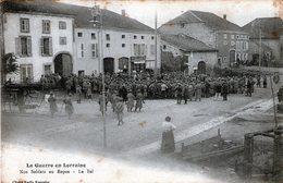 (134)  CPA  Pexonne  Nos Soldats Au Repos  Le Bal - Other Municipalities