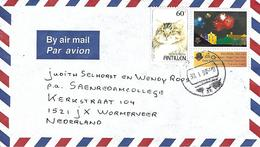 Netherlands Antilles 1998 Curacao Cat Fireworks Cover - Gatos Domésticos