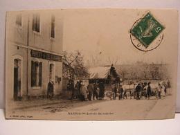 CPA ALGERIE MARNIA ARRIVEE DU COURRIER POSTES ET TELEGRAPHES ANIMEE 697 - Argelia