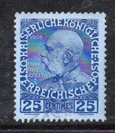 APR186 - AUSTRIA UFFICI CRETA 1908 , Unificaton. 18  Usato  (2380A) - Oriente Austriaco