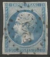 FRANCE - Oblitération Petits Chiffres LP 3243 St-PIERRE-DE-VAUVRAY (Eure) - 1849-1876: Période Classique