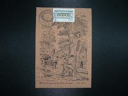 CP En LIEGE RECOLTE DU LIEGE TP LA FORET 2,50 OBL.24 JUIN 1994 66 VIVES VIVEXPO 94 EXPOSITION DU 24 Au 26 JUIN 94 - Postmark Collection (Covers)