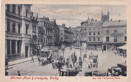 Derby, Market Head Et Irongate - Derbyshire