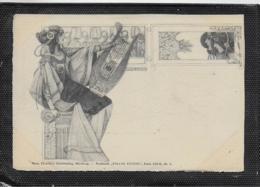 "AK 0396  Postkarte "" Pallas Athene "" - Stroefer' S Kunstverlag Um 1900-1910 - Peintures & Tableaux"