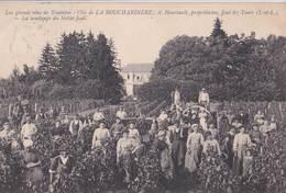 CPA Joué Les Tours (37) Clos La Bouchardière Vin Touraine Vendange Du Noble Joué Heurtault  Signée - Frankrijk
