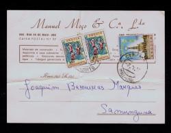 "Angola LOBITO Postal 1970 ""churches églises Cathédrale FÁTIMA"" + Additional 2x $50 POVOAMENTO Portugal Sp4288 - Churches & Cathedrals"