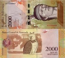 VENEZUELA       2000 Bolívares       P-96[b]       18.8.2016       UNC - Venezuela