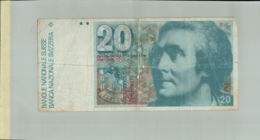 Billet De Banque SUISSE 20 Francs Nd(1982)  Schweiz -- UNC    DEC 2019 Gerar - Schweiz
