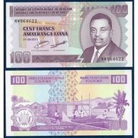 BILLET BURUNDI 100 FRANCS - Burundi