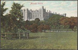 Arundel Castle, Sussex, 1905 - Postcard - Arundel