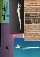 CONCORDE Ensemble Divers Documents - Collections