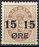 DENMARK  # FROM 1904  STAMPWORLD 41* - Nuovi