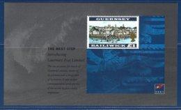 Guernsey, Yv 1er Feuillet Carnet De Prestige C 916, Guernsey Post Ltd ,Saint Peter Port ** - Guernesey