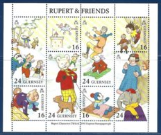 Guernsey, Yv BF 23, Rupert Et Ses Amis ** - Guernesey