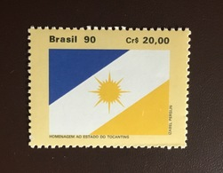 Brazil 1990 Tocantins Flag MNH - Brazilië