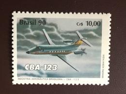 Brazil 1990 Aeronautics Industry Aircraft MNH - Brazilië