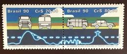Brazil 1990 Road Transport Union MNH - Brazilië