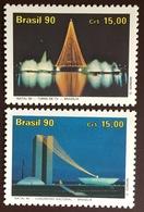 Brazil 1990 Christmas MNH - Brazilië
