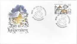 NOEL AU PAYS DES NOUNOURS KAYSERBERG 2000 - Poststempel (Briefe)
