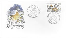 NOEL AU PAYS DES NOUNOURS KAYSERBERG 2000 - Marcophilie (Lettres)