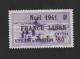 Faux Saint-Pierre Et Miquelon N° 219 (B) 80 C Gomme Sans Charnière - St.Pierre Et Miquelon